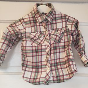 18m Carters Button Down